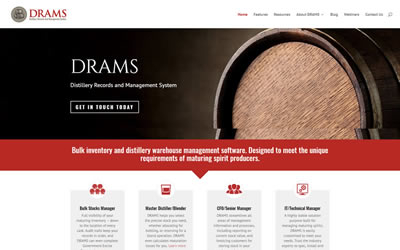 It's here! Welcome to the new DRAMS website